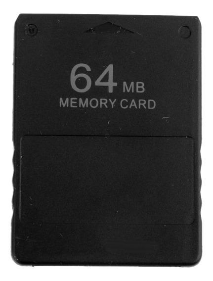 Cartão Memória 64mb Para Sony Playstation 2 Ps2