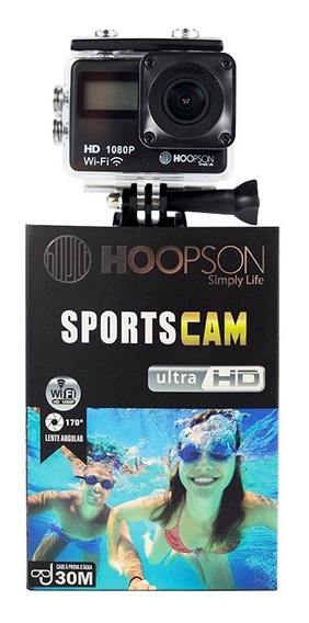 Câmera Esportiva Sposrtscam Ultra Hd Hoopson Sch-003
