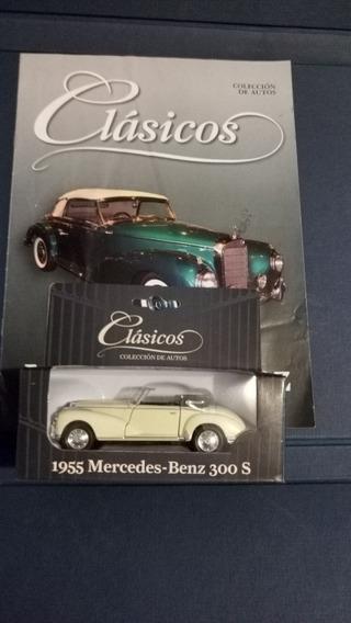 Colección Autos Clásicos N°8 Mercedes Benz 300 Con Fascículo