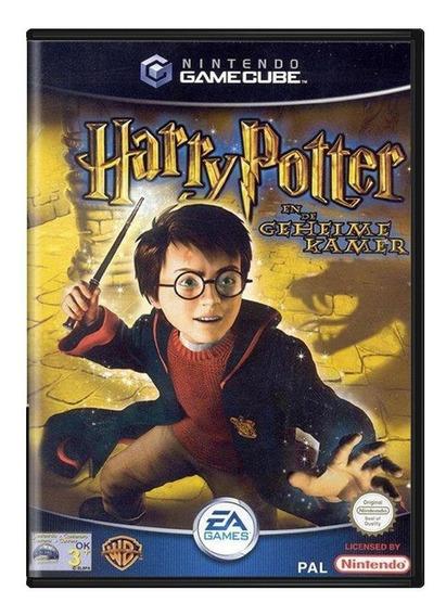 Harry Potter En De Geheime Kamer Gamecube Europeu Física