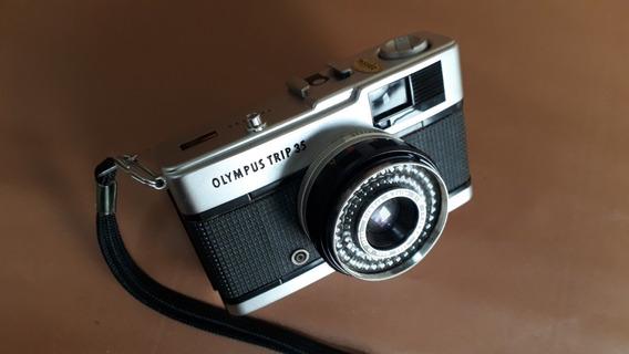 Câmera Olympus Trip 35 (vide Descrição)