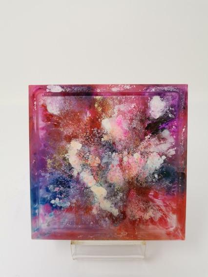Porta Objetos Decorativo Con Explosión De Colores
