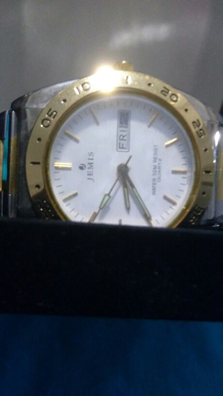 Relógio Séculos Aço E Ouro