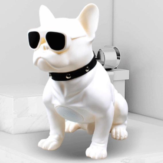 Caixa De Som Bluetooth Portátil Usb Bulldog
