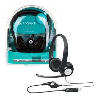 Auricular C Mic Usb Logitech Mod H390 Vincha Cancela Ruido