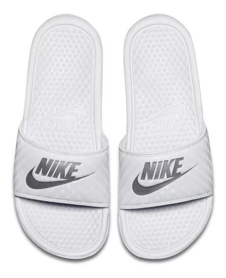 Ojotas Nike Benassi Jdi Blanca 100%original Importada