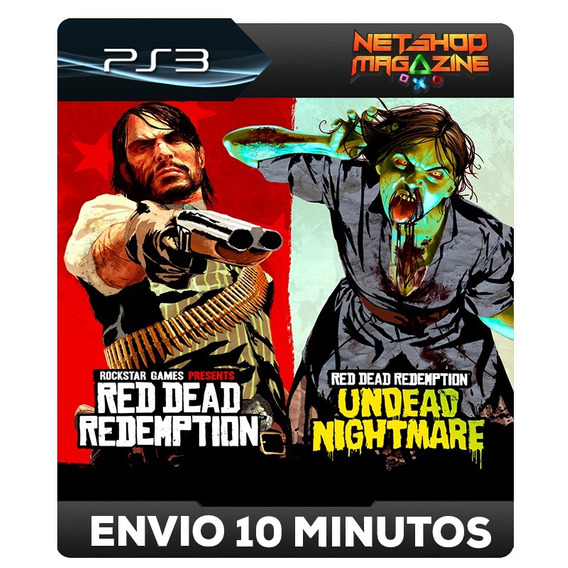 Red Dead Redemption And Undead Nightmare Collection Ps