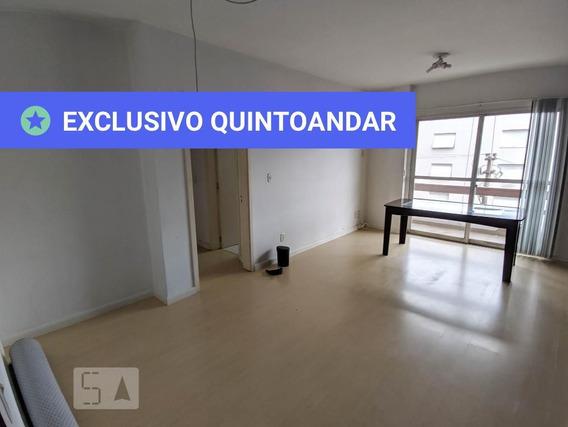 Apartamento No 3º Andar Com 2 Dormitórios E 2 Garagens - Id: 892970081 - 270081