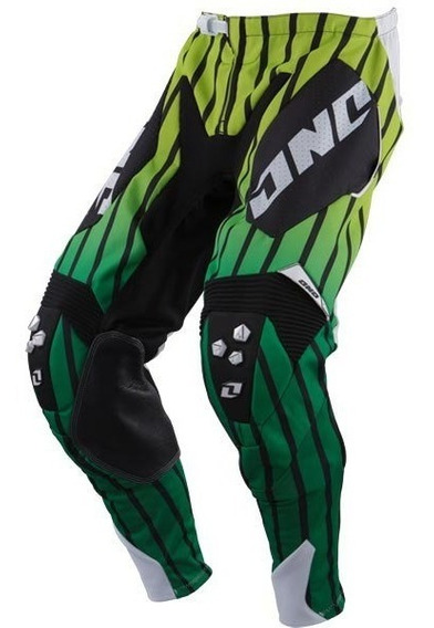Pantalon Cross One Defcon Saber Verde/negro/blanco