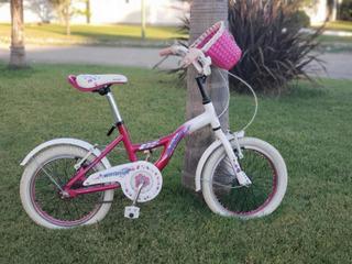 Bicicleta Raleigh Rodado 16 Nena