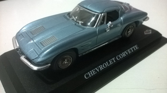 Miniatura 1/43 Auto Colection Del Prado Chevrolet Corvette