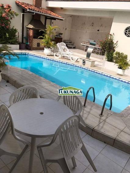 Casa Com 4 Dormitórios Para Alugar, 374 M² Por R$ 5.000,00/mês - Vila Rosália - Guarulhos/sp - Ca0406