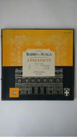 Box Com 2 Lps I Pagliacci Teatro Scala Frete Grátis