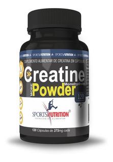 Creatine Pure Micronized Powder 120 Cápsulas Spn