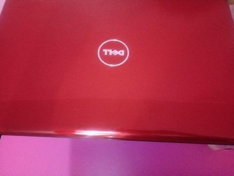 Notebook Dell Vermelho Inspiron