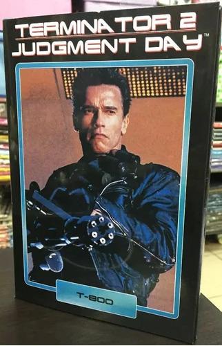 Terminator Figura T800 Neca - (figuras Nueva Y Sellada)