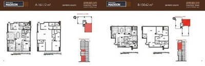 (crm-34-2174) Pre-venta Central Park Bosque Real Departamento Tipo Madison