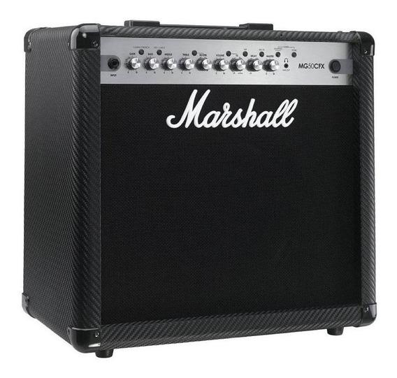 Amplificador Marshall MG Series MG50CFX 50W transistor negro