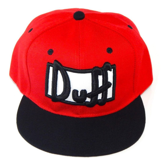 Gorra Simpsons Homero Duff Beer Bordada Plana Snapback
