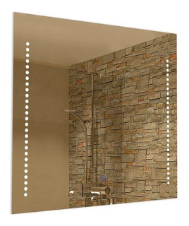 Espejo Con Luces Led Y Boton Touch Ideal Baños Buena Luz