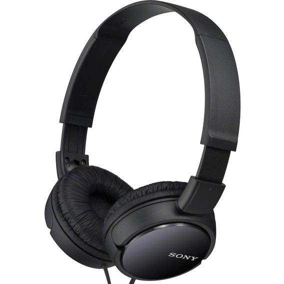 Headphone Fone Sony Preto Original Mdr-zx110/b C/ Nota