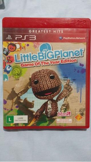 Little Big Planet - Mídia Física - Ps3