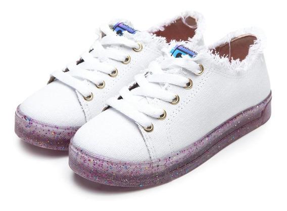 Tenis Infantil Molekinha Confort Fashion Menina 2524514 Novo