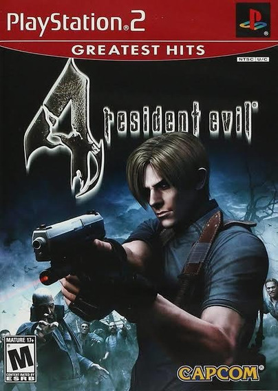 Resident Evil 4 Jogo De Ps2 Mídia Digital