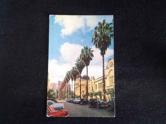 Postal Rua Sepulveda - Automoveis Antigos Porto Alegre -rs