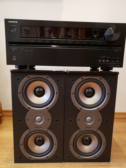 Receiver Home Theater 5.1 Tx-nr509 Com Caixas Polo Tsi200