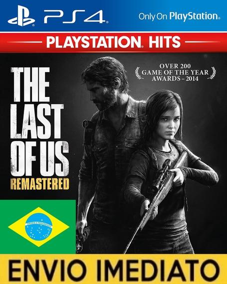 Tlou The Last Of Us Remastered Ps4 1 Jogo Via Cod