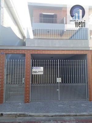 Sobrado Com 3 Dormitórios Para Alugar, 220 M² Por R$ 2.500 - Jardim São José - São Paulo/sp - So2191