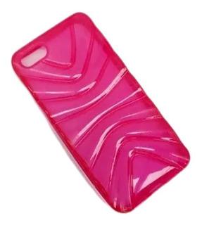 Case Capa Capinha iPhone 5 5g Colorida Transparente