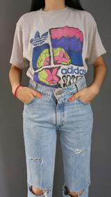Playera adidas Vintage Años 80s Talla M Importada