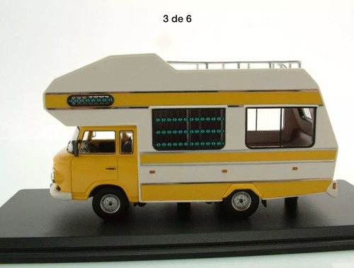 Barkas B1000 Motorhome Camping Car 1:43 Não Kombi Trailer