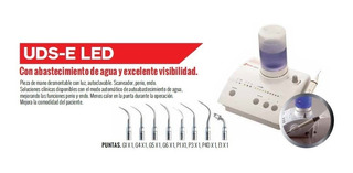 Cavitador Odontologico Piezoelectrico - Woodpecker Uds-e Led