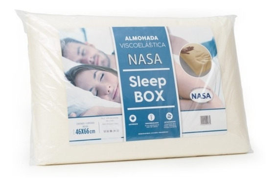 Almohada Inteligente Nasa Sleep Box X 2 Unidades