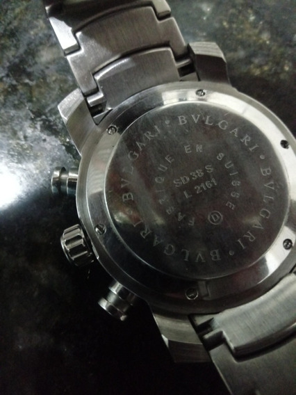 Relógio Bvlgari Sd38 S. L2161 Original