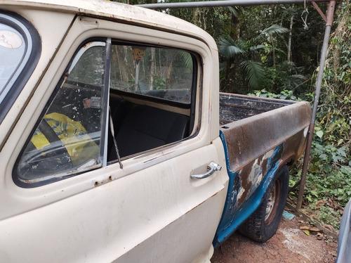 Imagem 1 de 7 de Chevrolet A10 Motor 4.1 Álcool
