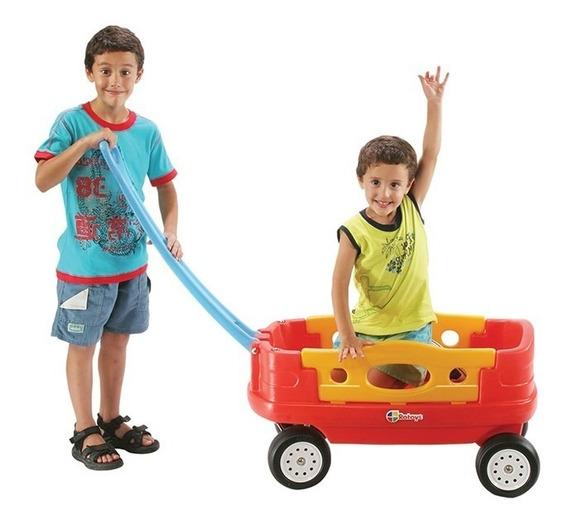 Carro Americano De Arrastre Para Niños Tienda Oficial Rotoys