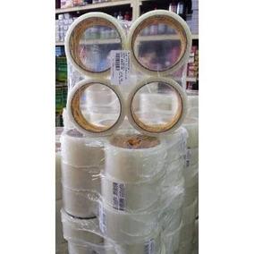 Fita Adesiva Transparente 45x40mm Caixa Com 48 Unidades