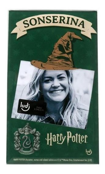 Porta Retrato Cartão Harry Potter Sonserina - Ludi