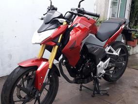 Honda Cb190r Roja