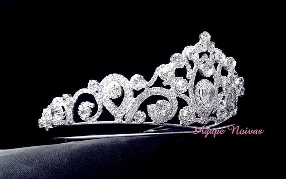 Coroa De Strass Para Noiva E Festa Cr22ra-a