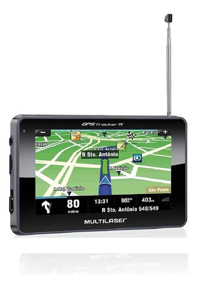Gps Multilaser Tracker Tv Gp034 Lcd 4.3 Usb/fm Preto