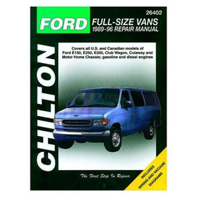 Manual Ford Full-size Vans Repair