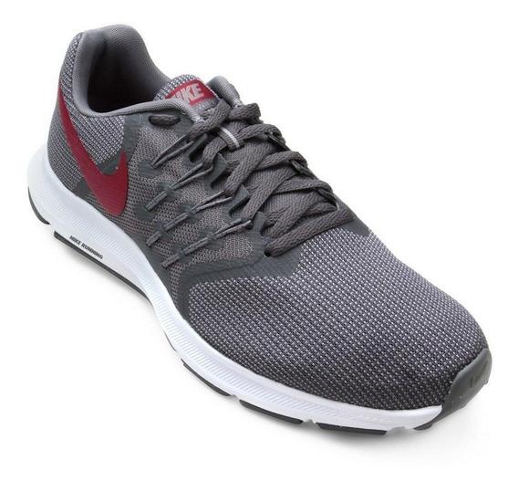 Tenis Nike Run Swift Cinza/vermelho