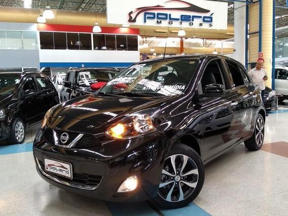 Nissan March Sl 1.6 Flex Automático 2017 Top De Linha!