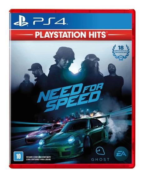 Need For Speed Ps4 Mídia Física Novo Lacrado