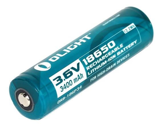 Bateria Recarregável 3400mah 3.6v Olight Orb2-186p34